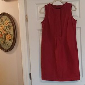 Talbots Dark Red Dress